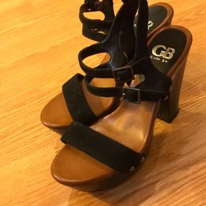 Gianna Bini Chunky Heels